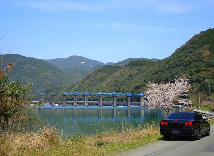 SKYLINE'10_arase-dam (1).JPG