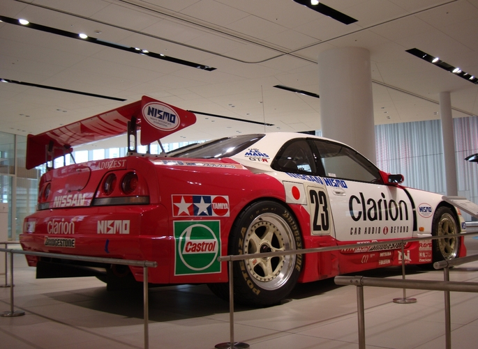 nismo gt-r lm clarion ②.JPG
